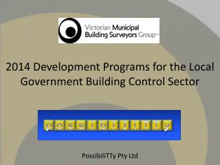 2014 Development Programs for the  Local Government Building Control Sector