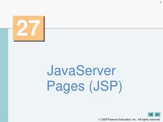 JavaServer Pages (JSP)
