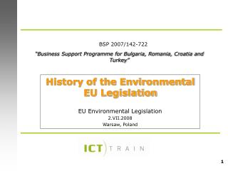 """ Business Support Programme for Bulgaria, Romania, Croatia and Turkey """
