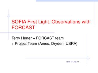 SOFIA First Light: Observations with FORCAST