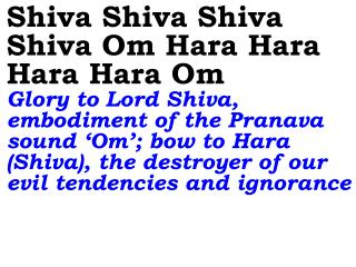 Hey Rudra Bhairava The Lord in the form of 'Rudra', destroys doubts and suspicions that hold one back on the path to Go
