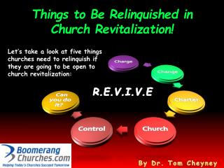 Things to Be Relinquished in Church Revitalization!
