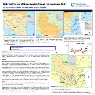 Statistical Trends of Groundwater Around the Suwannee Basin Bin Gao, Kathleen McKee, Wendy Graham, Osvaldo Gargulio