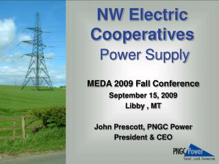 NW Electric Cooperatives Power Supply