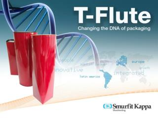 T-Flute, is the new high quality microflute board,  manufactured using a patented process