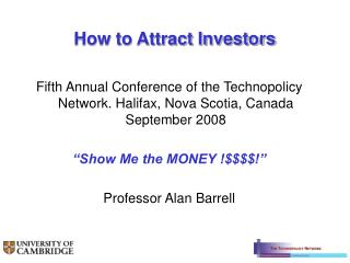 How to Attract Investors