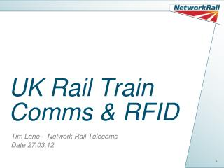 UK Rail Train Comms & RFID
