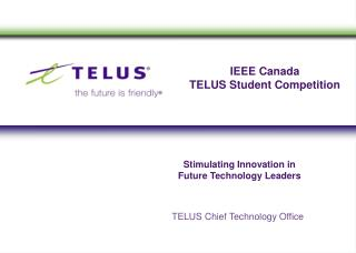 IEEE Canada  TELUS Student Competition