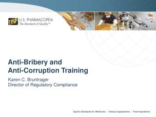 Anti-Bribery and  Anti-Corruption Training