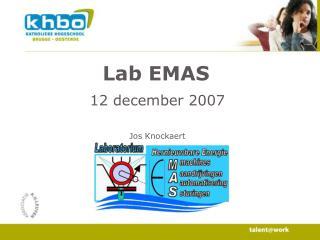 Lab EMAS