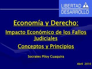 Economía y Derecho: Impacto Económico de los Fallos Judiciales Conceptos y Principios