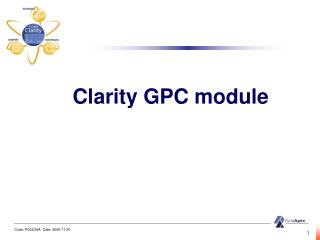 Clarity  G PC module