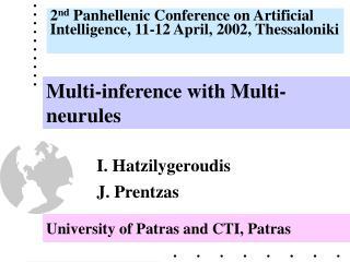University of Patras  and CTI, Patras