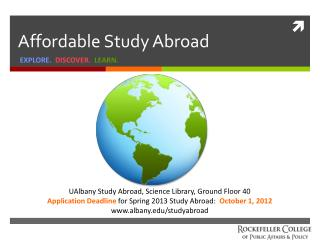 Affordable Study Abroad