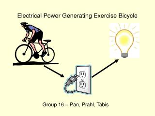 Electrical Power Generating Exercise Bicycle