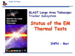 Status of the EM Thermal Tests