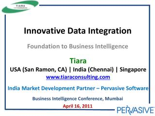 Innovative Data Integration