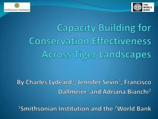 Capacity Building Global Support Program