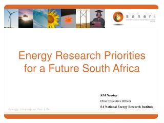 Energy Research Priorities for a Future South Africa