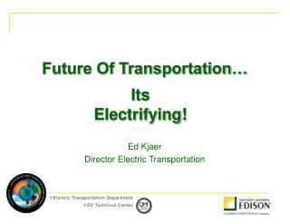 Future Of Transportation…