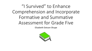 Using Research Based Writing Elements in Classroom Lesson Plans