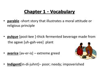 Chapter 1 - Vocabulary
