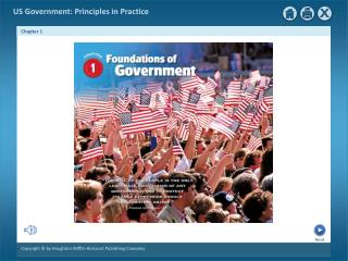 Chapter 1: Foundations of Government