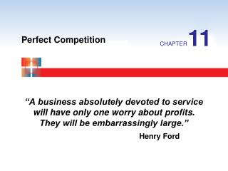 """A business absolutely devoted to service will have only one worry about profits. They will be embarrassingly large."""