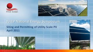 NAEP National Energy Symposium