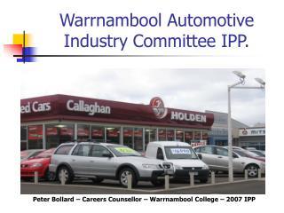 Peter Bollard - IPP Presentation PPT - 7.5Mb