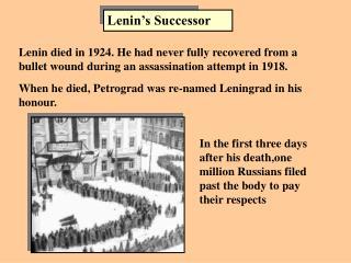 Lenin's Successor