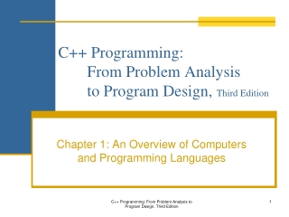 Chapter 7 Editing  Coding Standards