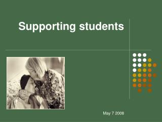 Supporting students
