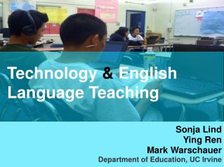 Technology  English Language Teaching