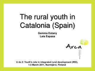 The  rural  youth  in  Catalonia  ( Spain )