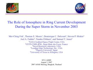 The Role of Ionosphere in Ring Current Development During the Super Storm in November 2003