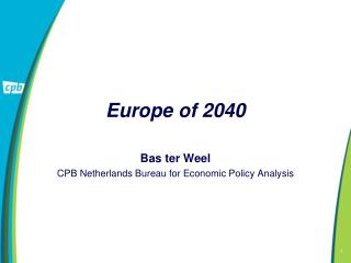 Europe of 2040