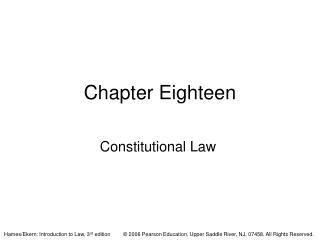 Chapter Eighteen