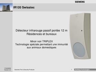 IR120 Swisstec