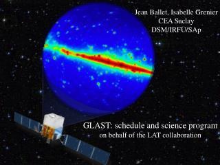 Jean Ballet, Isabelle Grenier CEA Saclay DSM/IRFU/SAp