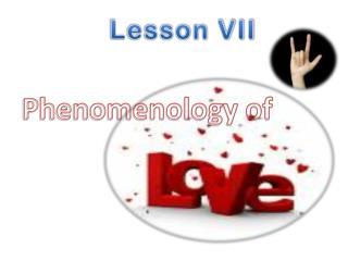 Phenomenology of