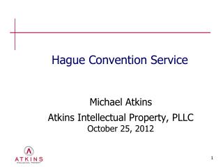 Hague Convention Service