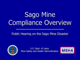 Sago Mine Compliance Overview