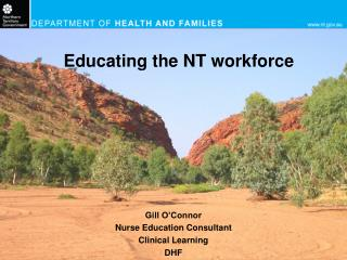 Educating the NT workforce
