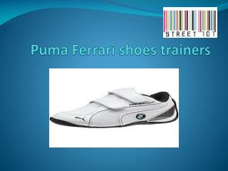 Puma Ferrari shoes and trainers