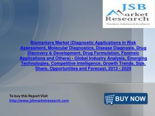 JSB Market Research : Biomarkers Market