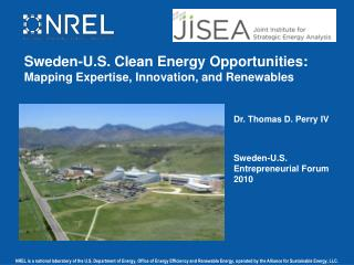 Sweden-U.S. Clean Energy Opportunities: Mapping Expertise, Innovation, and  Renewables