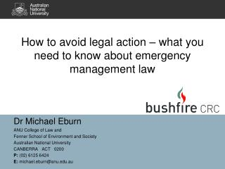 How to avoid legal action – what you need to know about emergency management law