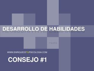 DESARROLLO DE HABILIDADES