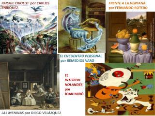 PAISAJE CRIOLLO   por  CARLOS ENRIQUEZ